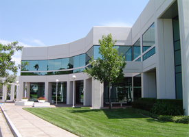 Commercial Building Landscape
